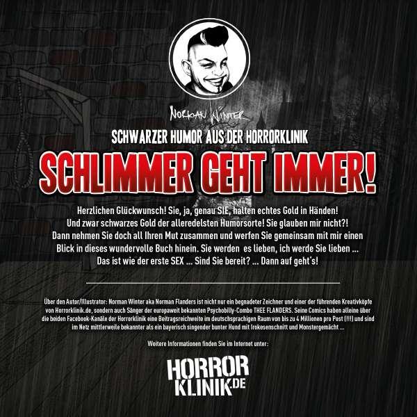 Schwarzer Humor Aus Der Horrorklinik 1 Schlimmer Geht Immer