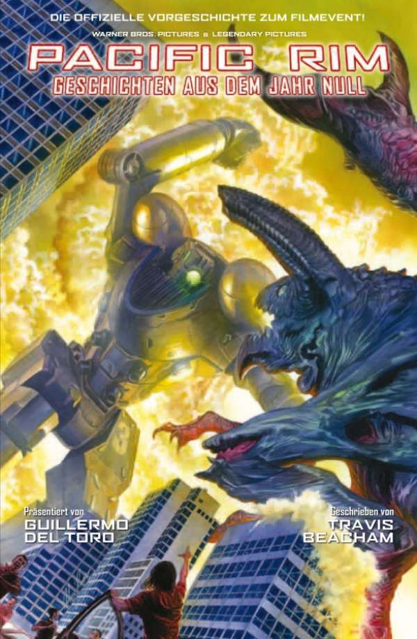 Pacific Rim Pacific Rim Geschichten Aus Dem Jahr Null Cross Cult Comics Romane