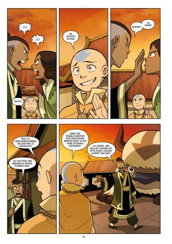 Avatar: Der Herr der Elemente 1: Das Versprechen 1 - Cross