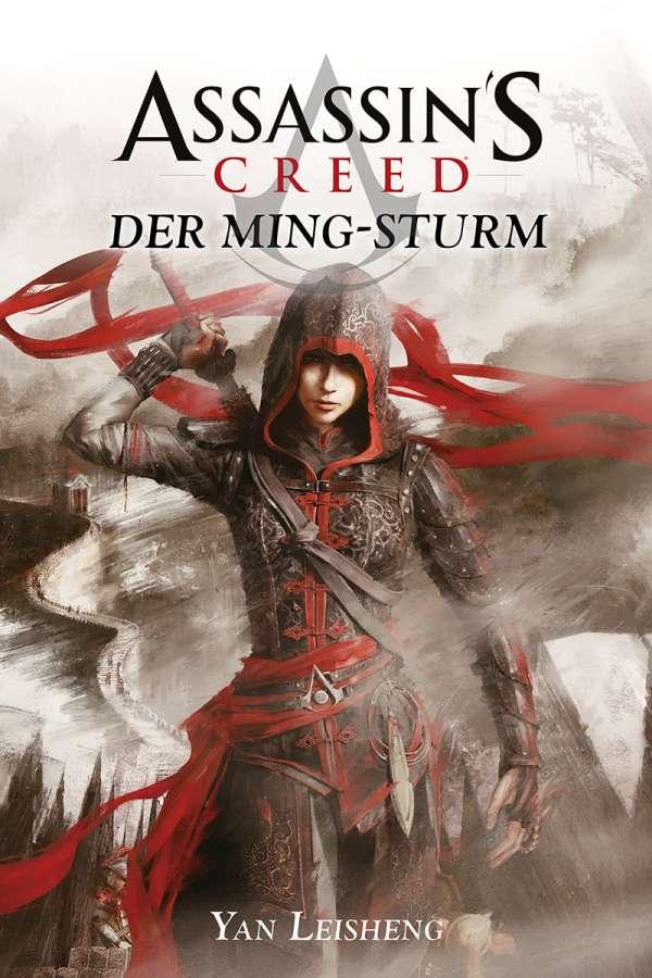 Bücherblog. Neuerscheinungen. Buchcover. Assassin's Creed - Der Ming-Sturm von Yan Leisheng. Fantasy. Cross Cult.