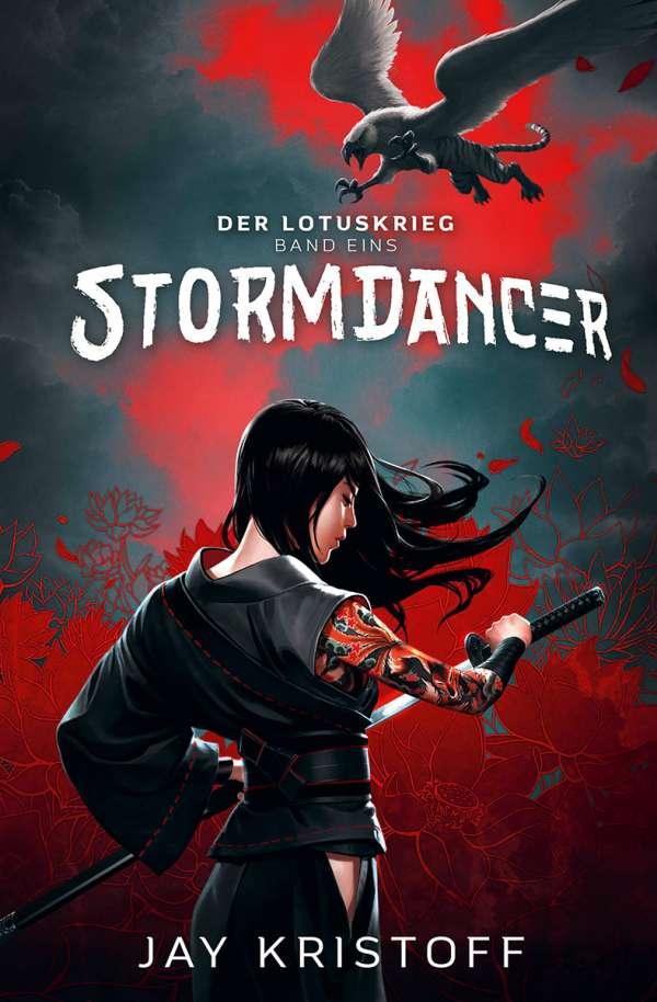 Bücherblog. Neuzugang. Buchcover. Der Lotuskrieg - Stormdancer (Band 1) von Jay Kristoff. Fantasy. Steampunk. Cross Cult.