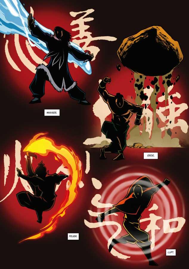 Avatar – Der Herr Der Elemente Rollen