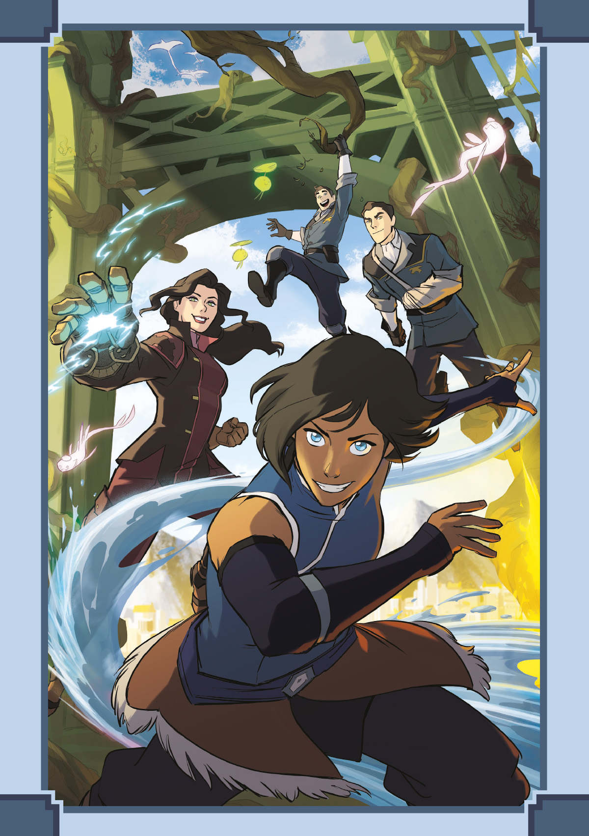 die legende von korra 1  revierk u00e4mpfe 1 - cross cult