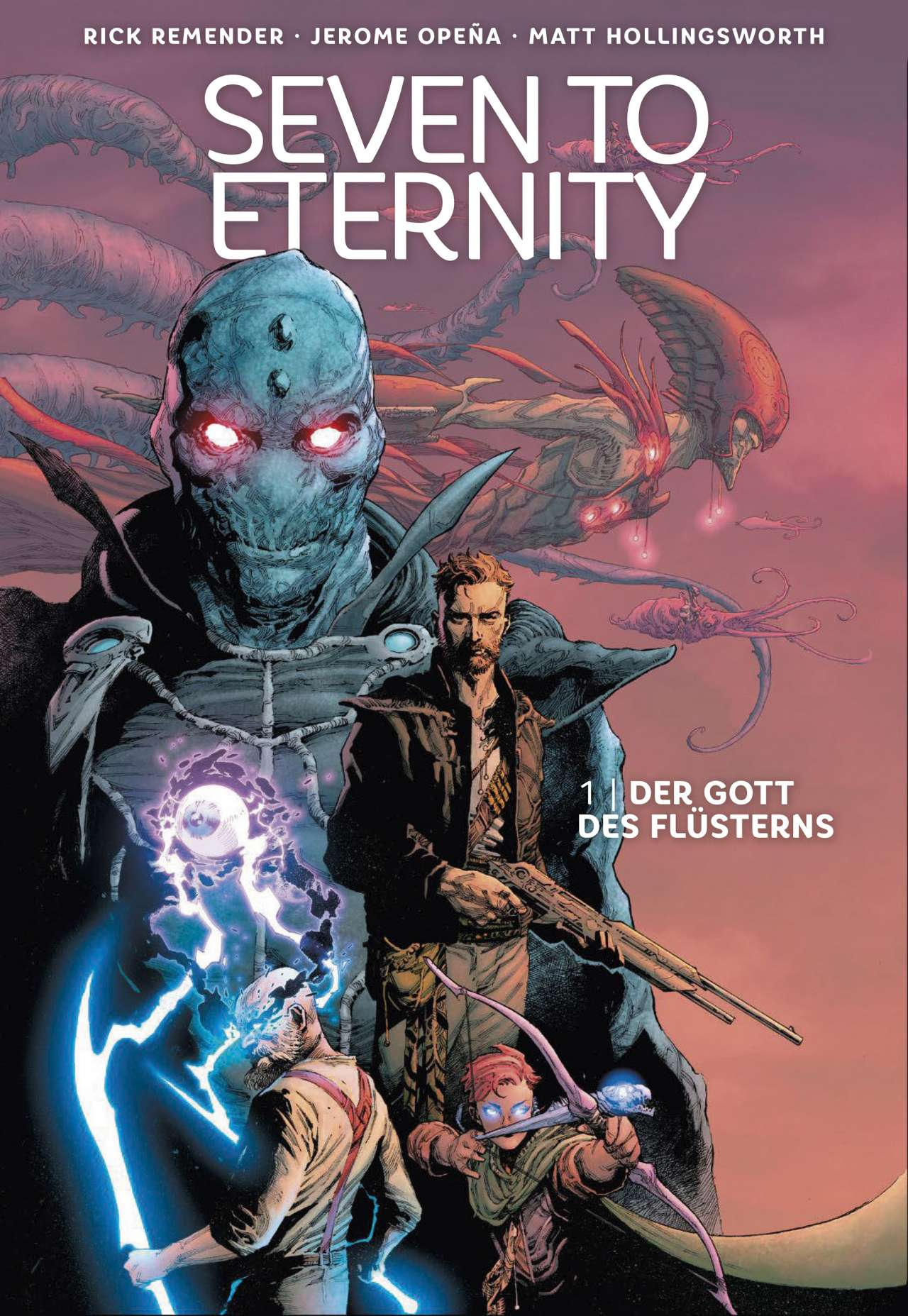 Seven To Eternity Bd. 01 - Der Gott des Flüsterns