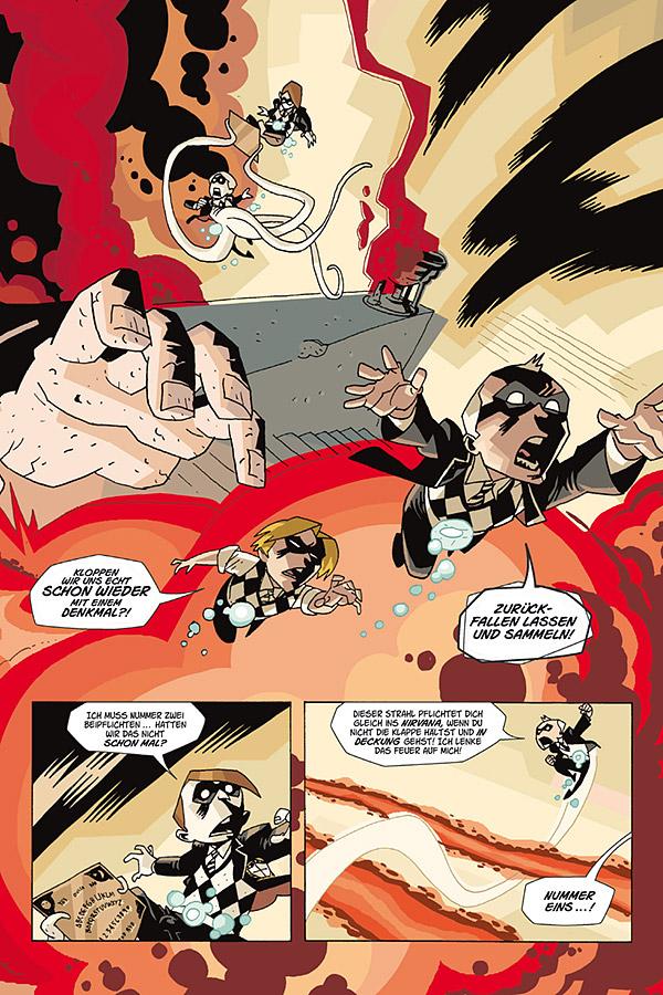 The Umbrella Academy 2 Dallas Cross Cult Comics Amp Romane